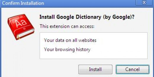 install google dictionary