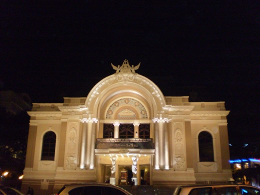 The Majestic Opera House in Saigon.