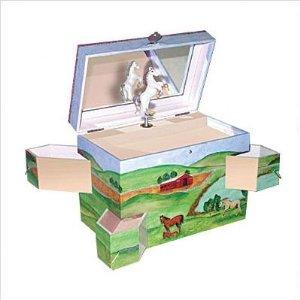 Running Free Jewelry Box