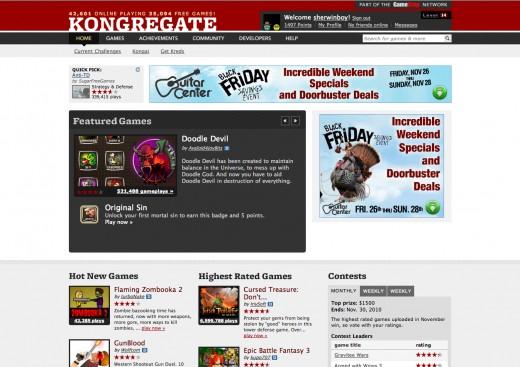My favorite Gaming website.