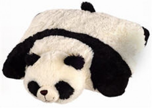 Comfy Panda as pillow