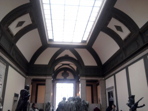 Inside Rodin Museum, Philadelphia, PA