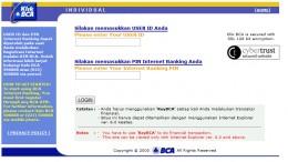 bca login page