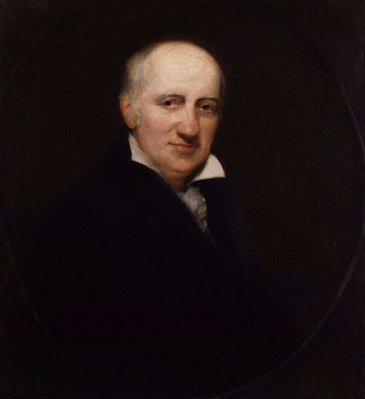 William Godwin, by Henry William Pickersgill. Image Wikipedia