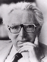 Viktor Frankl: Groundbreaking psychologist and neurologist. Survivor of Holocaust death-camp.