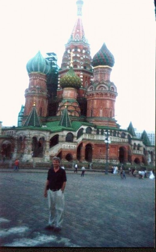 St. Basil's Cathedral on Red Square in Moscow