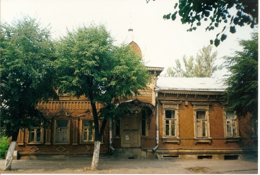 Old Wooden House in Ryazan, Russia