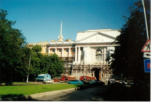 Mihajlov Palace of Emperor Paul I in St. Petersburg, Russia