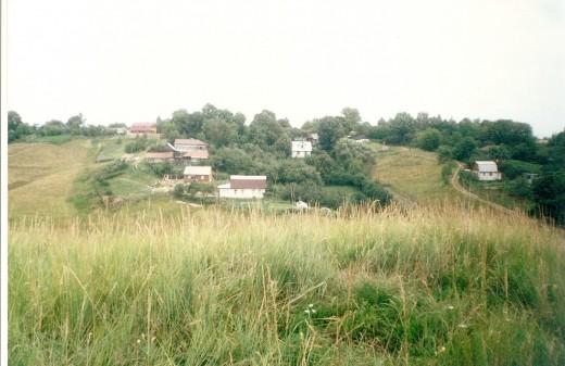 Village of Poshupovo Outside of Ryazan, Russia