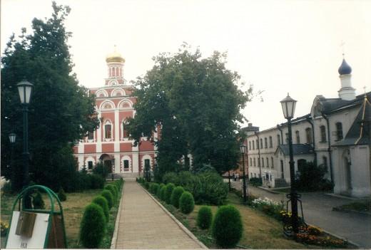 Main Church in Poshupovo Monastery outside of Ryazan, Russia