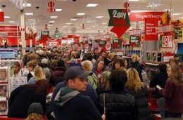 Retailers could only wish for crowds like this year around.
