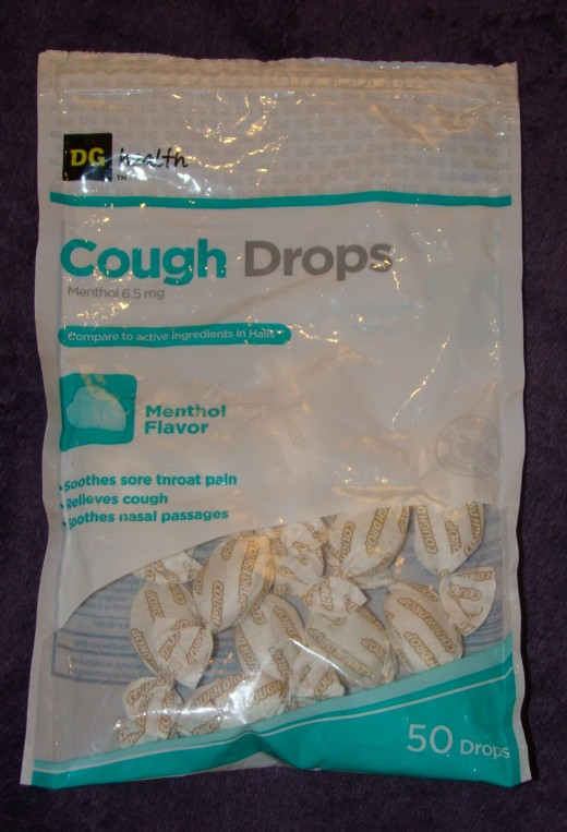 Menthol cough drops have helped ease coughing and sore throat pain as well as curbed my cravings for menthol.