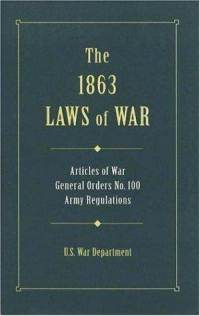 This book was produced during the US Civil War and details military law and the Articles of War as they existed then.