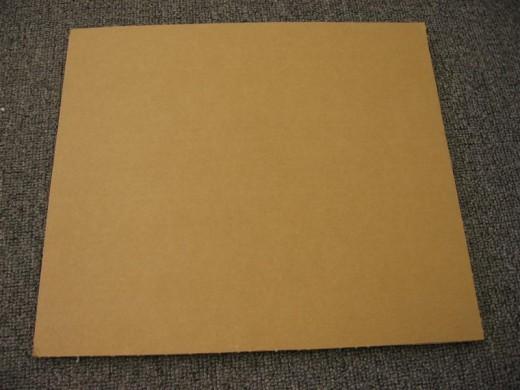 A piece of Cardboard