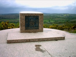 Monument to the dead at Mont Picon