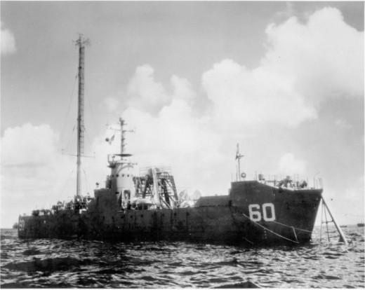 USS LSM 60 Baker