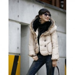 Mens and Womens Hooded Faux Fur Coats and Jackets