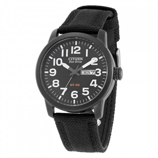 Citizen watch bands even come in canvas.