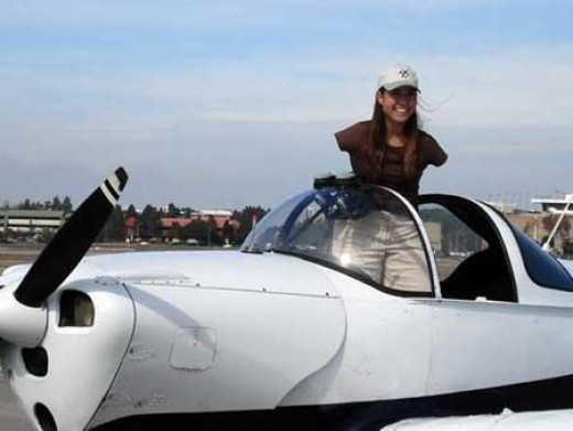 Jessica Cox, the first-ever female armless pilot