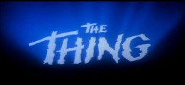 You can feel the isolation of the characters in the theme music to The Thing...