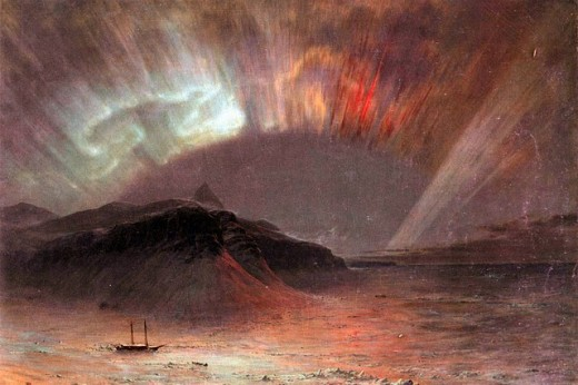 Aurora Borealis by Frederick Edwin Church. http://creativecommons.org/licenses/by-nd/3.0/