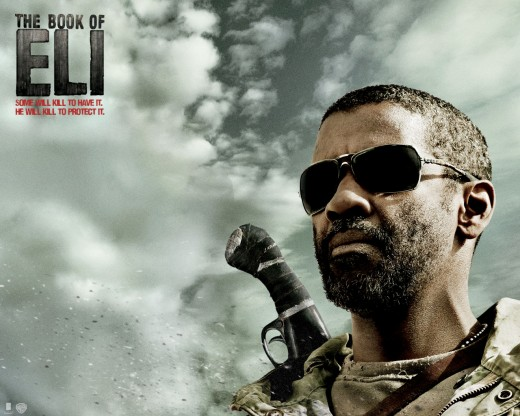 Book of Eli starring Denzel Washington.
