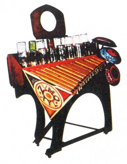 "This is the ""Zymo Xyl"" a Partch instrument from 1963."