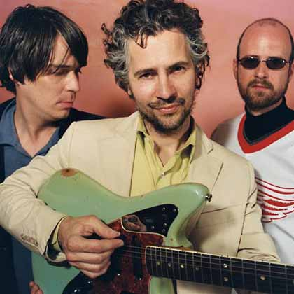 They may be a bit older in this picture than in the video below, but these guys are the Flaming Lips.