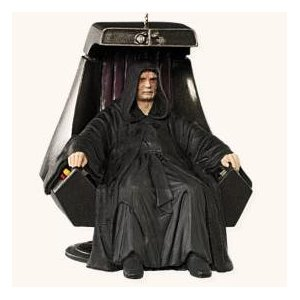 Star Wars Tree Christmas Ornaments - Palpatine on his throne