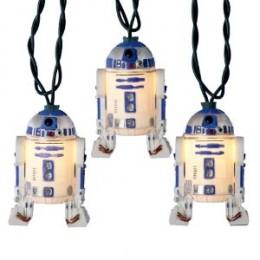 Star Wars Tree Christmas Ornaments - R2D2 lights