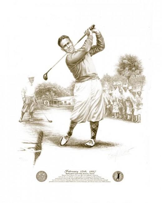 Tribute Bobby Jones The Golf Legend Gentleman Inventor