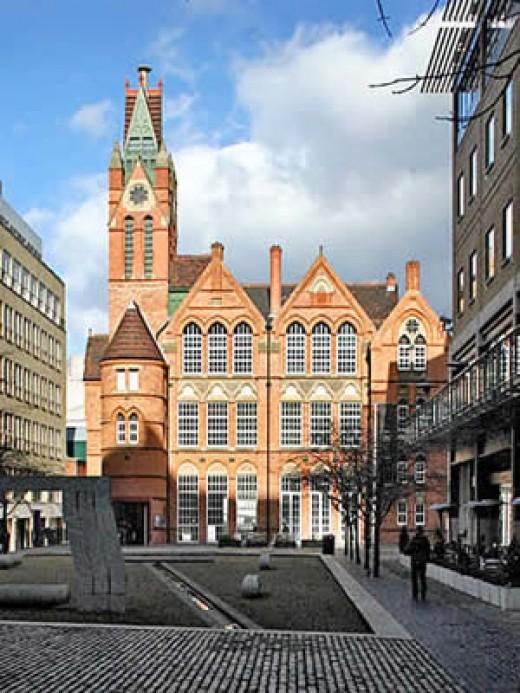 Birmingham Ikon Gallery - A Walking tour of places to visit in Birmingham