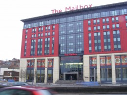 Mailbox shopping centre - A Walking Tour of places to visit in Birmingham