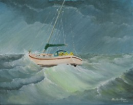 The Squall by gifted artist Frank Roosa.