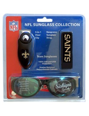 New Orleans Saints Sunglass Kit