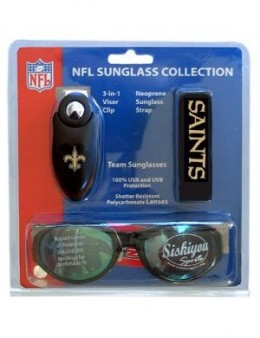 New Orleans Saints Sunglass Kit