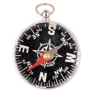 430 Unlidded Pocket Compass (1 Compass)