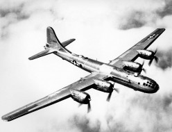 This is the kind of plane used to drop the atomic bombs.