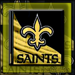 New Orleans Saint's custom logo