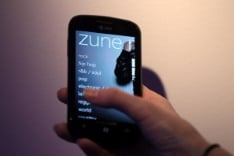 One of the best features of Windows 7 mobile smartphones is that there is a Zune App.  What the Zune should have been.