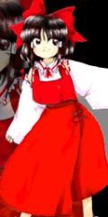 In game art of Reimu (touhou 6)