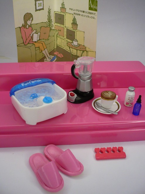 Miniature Barbie Doll Spa