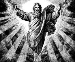 "and God said, ""abracadabra."""