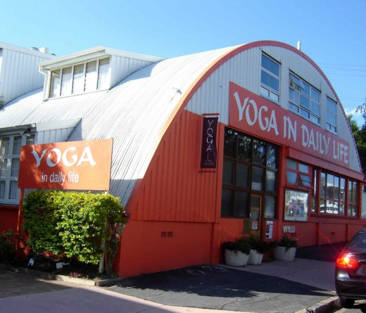 The Yoga Centre i attend in New Farm Brisbane