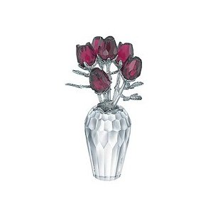 Luxury Gifts For Women: Swarovsky Crystal Moments Red Roses