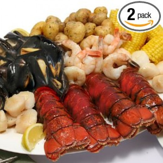 Luxury Gifts: Maine Lobster Bake