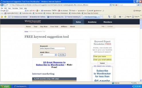 Free Online Keyword Analysis & SEO Research Tool