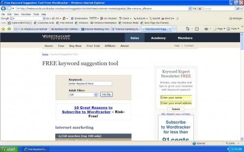 Free Online Keyword Analysis & SEO Research Tool