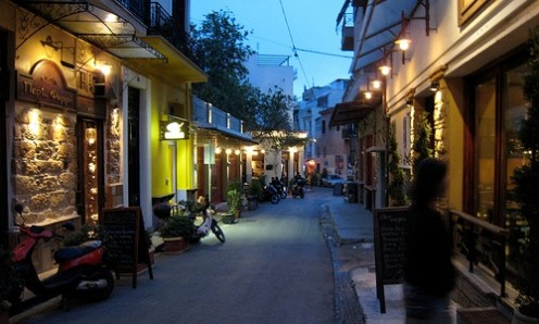 Psiri District, Athens. Photo from Google Image