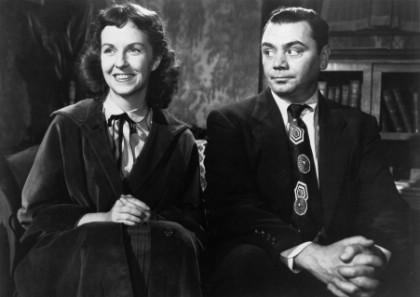 With Betsy Blair in Marty, 1955
